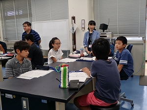 高専ハカセ塾有明高専会場 第2回活動の様子