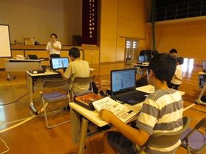 高専ハカセ塾 第3回熊本高専熊本キャンパス会場活動風景