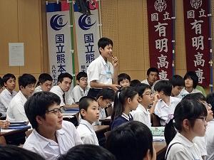 高専ハカセ塾開校式・始業式 特別講演会における質疑