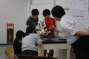 第2段階の受講生による研究成果発表