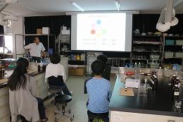 色素についての講義