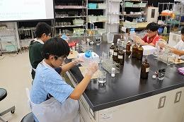色素合成の実験